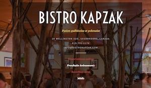 Bistro Kapzak - Estrie / Canton de l'est, Granby