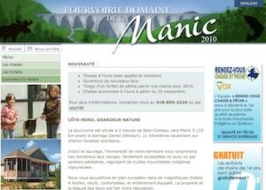Domaine de la Manic - Mauricie, Trois-Rivières
