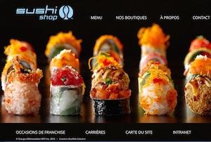 Restaurant  Sushi Shop (Carrefour de L'Estrie) - Estrie / Canton de l'est, Sherbrooke