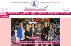 Ajustements Féminins - Estrie / Canton de l'est, Sherbrooke