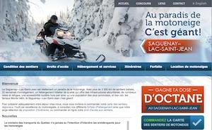 Au Paradis de la Motoneige - Saguenay-Lac-Saint-Jean, Saguenay (Saguenay) (V)