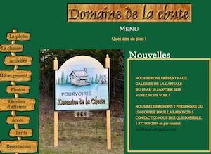 Pourvoirie du  Domaine de la Chute - Charlevoix, La  Malbaie