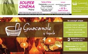 Restaurant Guacamole y tequila - Estrie / Canton de l'est, Magog