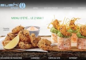 Restaurant Sushi Shop Inc - Estrie / Canton de l'est, Ville de Magog