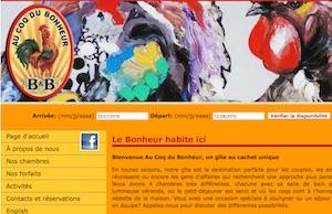 Au Coq Du Bonheur B&B - Estrie / Canton de l'est, Magog