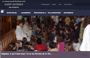 Église Paroisse St-Patrice - Estrie / Canton de l'est, Ville de Magog