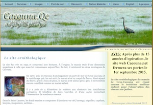 Site ornithologique du marais de Gros-Cacouna - Bas-Saint-Laurent, Cacouna