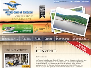La Pourvoirie du Barrage Gouin - Mauricie, Shawinigan (Shawinigan-Sud)