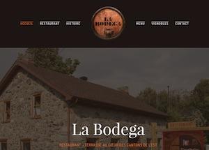 Restaurant La Bodega - Estrie / Canton de l'est, Dunham