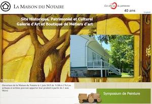 Maison du Notaire - Bas-Saint-Laurent, Trois-Pistoles (V)