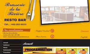 Brasserie de La Rivière - Estrie / Canton de l'est, Cowansville