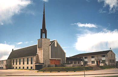 Église Marie-Immaculée - Côte-Nord / Duplessis, Sept-Îles