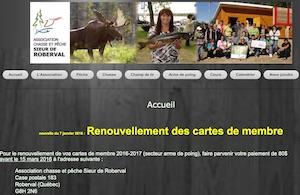 Association Chasse et Pêche Sieur de Roberval - Saguenay-Lac-Saint-Jean, Roberval (Lac-St-Jean)