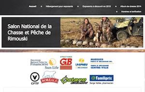 Le salon national de la chasse de Rimouski - Bas-Saint-Laurent, Rimouski