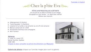 Chez la P'tite Éva - Chaudière-Appalaches, Sainte-Aurélie (Beauce)