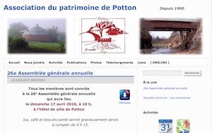 Association du patrimoine de Potton - Estrie / Canton de l'est, Mansonville