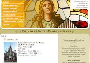Église Notre-Dame-des-Neiges - Bas-Saint-Laurent, Trois-Pistoles