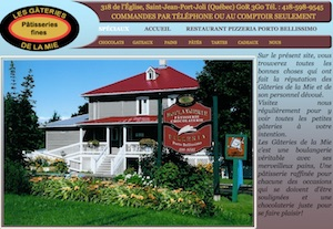 Les Gâteries de la Mie / Pizzéria Porto Bellissimo - Chaudière-Appalaches, Saint-Jean-Port-Joli (Côte-du-Sud)