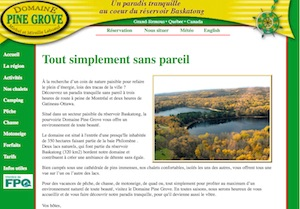 Domaine Pine Grove - Outaouais, Grand-Remous
