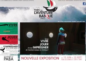 Parc de l'aventure basque en Amérique - Bas-Saint-Laurent, Trois-Pistoles