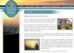 Parfum d'mer - Bas-Saint-Laurent, Sainte-Luce-sur-Mer