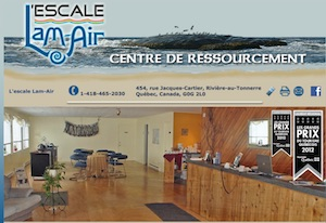 L'escale Lam-Air - Côte-Nord / Duplessis, Rivière-au-Tonnerre