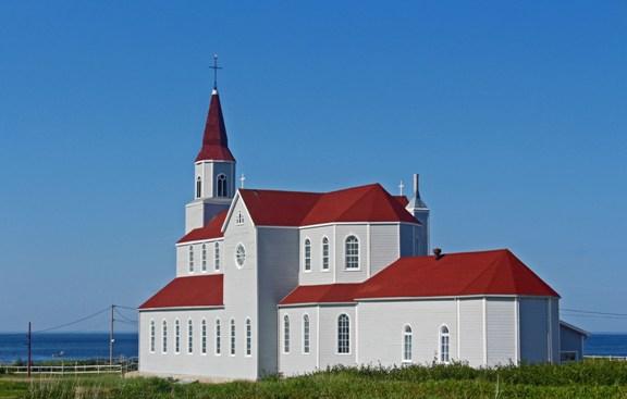Église de Rivière-au-Tonnerre - Côte-Nord / Duplessis, Rivière-au-Tonnerre