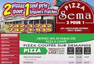 Pizza Sema - Montérégie, Sorel-Tracy