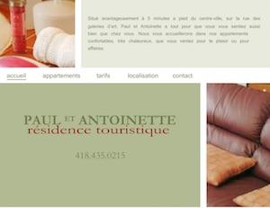 Résidence Chez Paul et Antoinette - Charlevoix, Baie-Saint-Paul