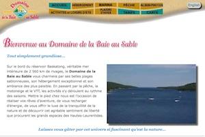 Domaine de la Baie au Sable - Laurentides, Mont-Laurier