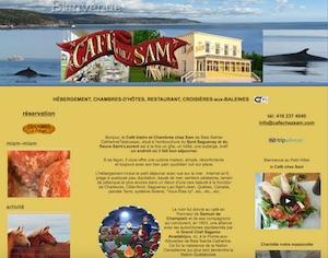 Les Chambres du Café Chez Sam - Charlevoix, Baie-Sainte-Catherine
