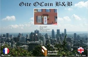 Gîte Ocoin - Montréal, Montréal (Mercier-Hochelaga-Maisonneuve)