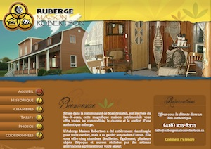 Auberge Maison Robertson - Saguenay-Lac-Saint-Jean, Métabetchouan (Lac-St-Jean)
