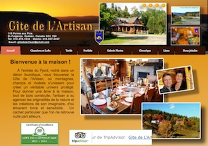 Gîte de l'Artisan - Saguenay-Lac-Saint-Jean, Saint-Fulgence (Saguenay)