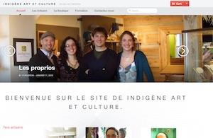 Indigène Art et Culture - Charlevoix, La  Malbaie (Pointe-au-Pic)