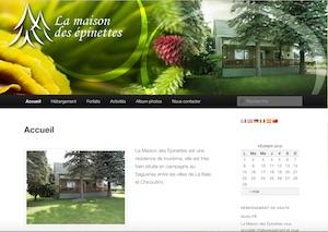 La Maison des Épinettes - Saguenay-Lac-Saint-Jean, Saguenay (Saguenay) (V) (La Baie)