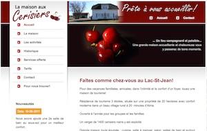 La Maison aux Cerisiers - Saguenay-Lac-Saint-Jean, Labrecque (Lac-St-Jean)
