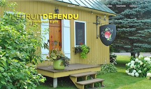 Auberge Le Fruit Défendu - Montérégie, Rougemont