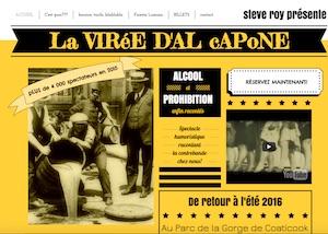 La Virée d'Al Capone - Estrie / Canton de l'est, Ville Coaticook