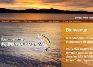 Pourvoirie Poulin de Courval - Saguenay-Lac-Saint-Jean, Saguenay (Saguenay) (V) (Jonquière)