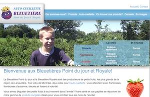 Bleuetière Point du jour - Lanaudière, Lavaltrie