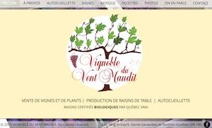 Vignoble du Vent Maudit - Lanaudière, Sainte-Geneviève-de-Berthier