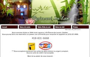 Restaurant Son Lam - Chaudière-Appalaches, Lévis (Lévis)