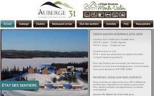 Auberge du 31 / Village-Vacances Monts-Valin - Saguenay-Lac-Saint-Jean, Saguenay (Saguenay) (V) (Chicoutimi)