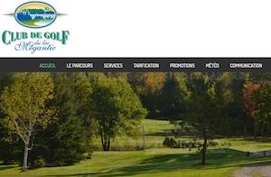 Club de golf du Lac Mégantic - Estrie / Canton de l'est, Lac-Mégantic (V)