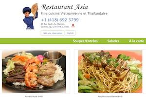 Restaurant Asia - Capitale-Nationale, Ville de Québec (V)