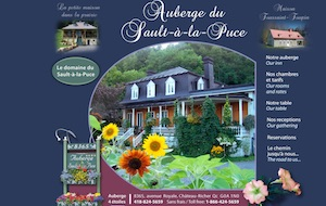 Auberge du Sault-à-la-Puce - Capitale-Nationale, Chateau-Richer