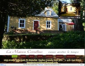 La Maison Cornélius - Chaudière-Appalaches, Saint-Malachie (Bellechasse)
