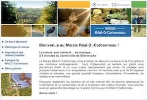 Marais Réal-D.-Carbonneau - Estrie / Canton de l'est, Sherbrooke