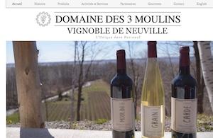 Domaine des 3 Moulins - Capitale-Nationale, Neuville